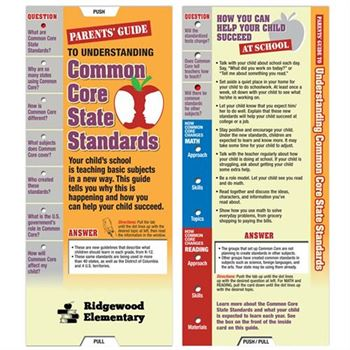Parents' Guide To Understanding Common Core State Standards Slideguide - Personalization Available