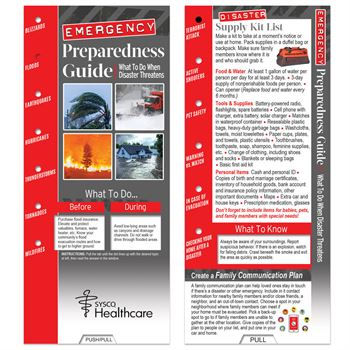 Emergency Preparedness Guide: What to Do When Disaster Threatens Slideguide - Personalization Available
