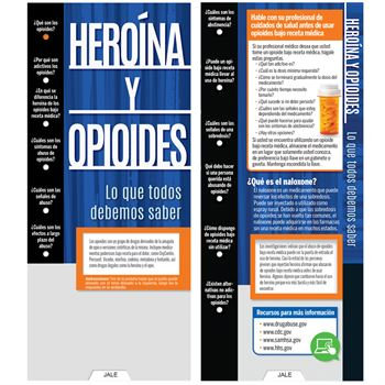Heroin & Opioids: What Everyone Should Know Slideguide (Spanish) - Personalization Available