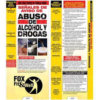 A Parent's Guide to Warning Signs Of Drug & Alcohol Abuse Spanish Language Slideguide - Personalization Available