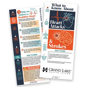 What To Know About Heart Attacks and Strokes Slideguide - Personalization Available