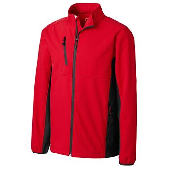 Clique® Men's Narvik Colorblock Softshell Jacket - Personalization Available
