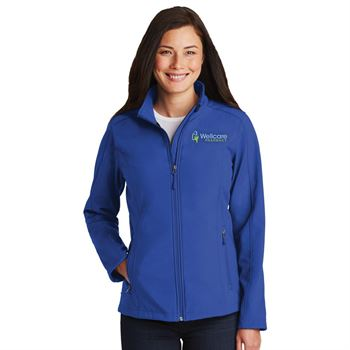 Port Authority® Women's Core Soft Shell Jacket - Embroidered Personalization Available