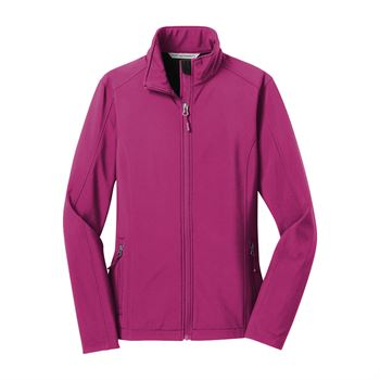 Port Authority® Women's Core Soft Shell Jacket - Personalization Available