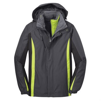 Port Authority® Men's Colorblock 3-In-1 Jacket - Personalization Available