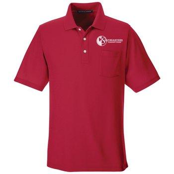 Devon & Jones® Men's Drytec20™ Performance Pocket Polo - Personalization Available