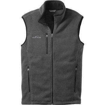 Eddie Bauer® Men's Full Zip Fleece Vest - Personalization Available