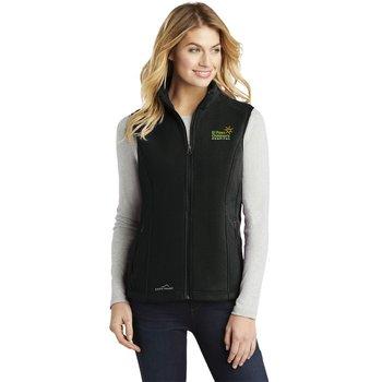Eddie Bauer® Women's Full Zip Fleece Vest - Personalization Available