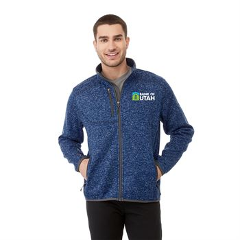 Elevate® Men's Tremblant Knit Jacket - Embroidery Personalization Available