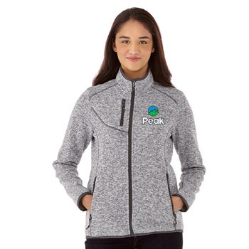 Elevate® Women's Tremblant Knit Jacket - Embroidery Personalization Available