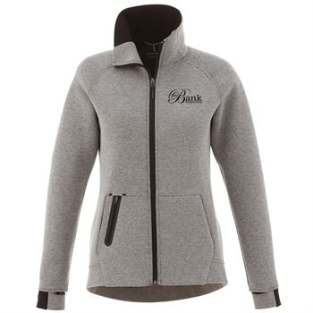 Elevate® Women's Kariba Knit Jacket - Embroidery Personalization Available