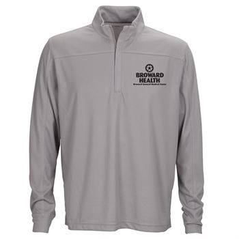 Vantage® Men's Vansport Pro Herringbone Quarter-Zip Pullover - Personalization Available