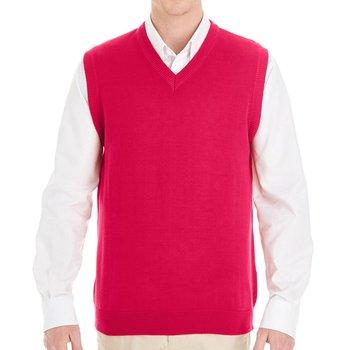 Harriton® Men's Pilbloc V-Neck Sweater Vest - Personalization Available