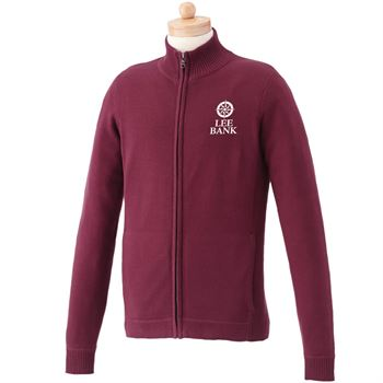 Elevate® Men's Lockhart Full-Zip Sweater - Personalization Available