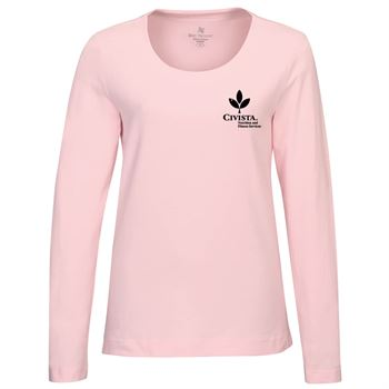 Lilac Bloom® Lauren Women's Long Sleeve Knit Shirt - Personalization Available