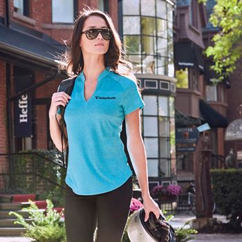 Elevate® Women's Antero Short Sleeve Polo - Personalization Available