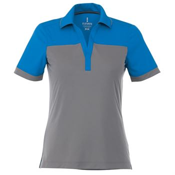 Elevate® Women's Mack Short Sleeve Polo - Personalization Available