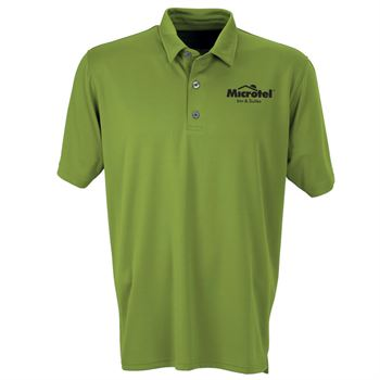 Vantage® Men's Vansport Micro-Waffle Mesh Polo - Personalization Available