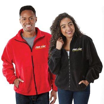 Sierra Pacific® Unisex Full-Zip Fleece Jacket - Personalization Available