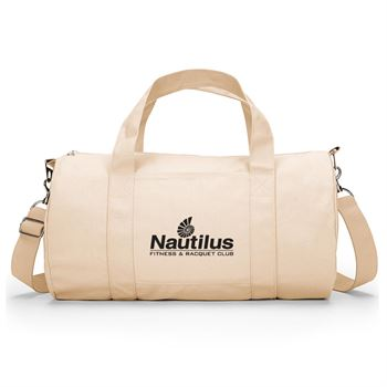 UltraClub® Small Cotton Canvas Duffel Bag - Personalization Available