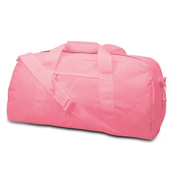 UltraClub® Large Square Duffel Bag - Personalization Available