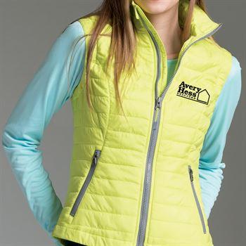 Charles River Apparel® Women's Radius Quilted Vest - Personalization Available