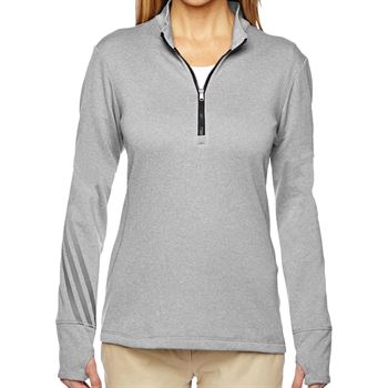 Adidas® Women's Golf Quarter-Zip Sweatshirt - Personalization Available