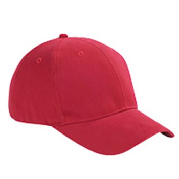 Big Accessories® 6-Panel Brushed Twill Structured Cap - Personalization Available