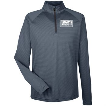 Under Armour® Men's Tech Stripe Quarter-Zip - Personalization Available