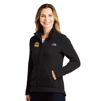 The North Face® Women's Sweater Fleece Jacket - Personalization Available