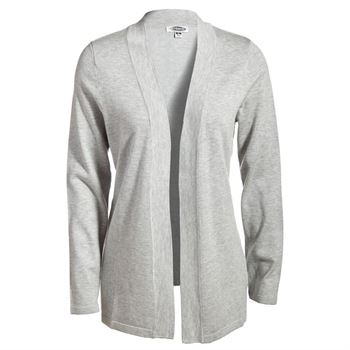 Ladies Embroidered Open Cardigan Sweater - Personalization Available