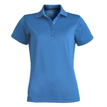 Women's Dry-Mesh Embroidered Hi-Performance Short Sleeve Polo - Personalization Available