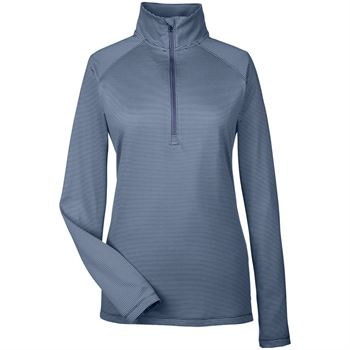 Under Armour® Women's Tech Stripe Quarter-Zip - Personalization Available