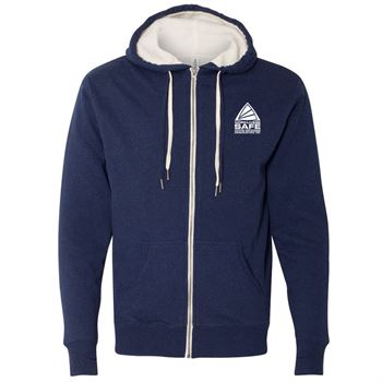 Independent Trading Co.® Unisex Sherpa-Lined Hooded Sweatshirt - Personalization Available