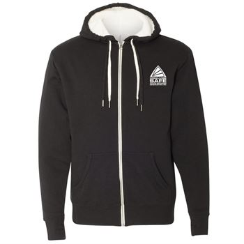 Independent Trading Co.-Unisex Sherpa-Lined Hooded Sweatshirt