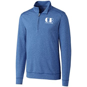 Cutter & Buck® Men's Shoreline Half-Zip - Personalization Available