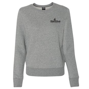 Oakley Cotton Blend Women's Crewneck Sweatshirt - Personalization Available