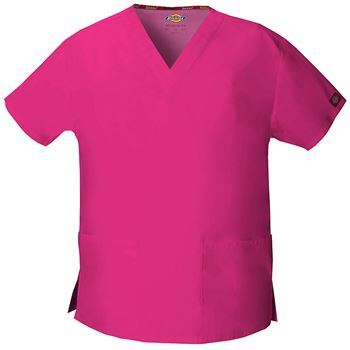 Dickies Women's V-Neck 2-Pocket Top - Personalization Available