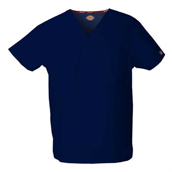 Dickies Unisex V-Neck 1-Pocket Scrubs Top - Personalization Available