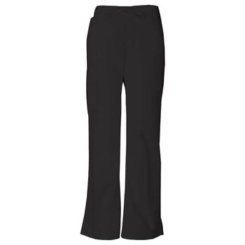 Dickies Women's 6-Pocket Mid Rise Drawstring Cargo Scrubs Pants