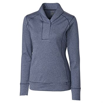 Cutter & Buck® Shoreline Women's Half-Zip - Personalization Available