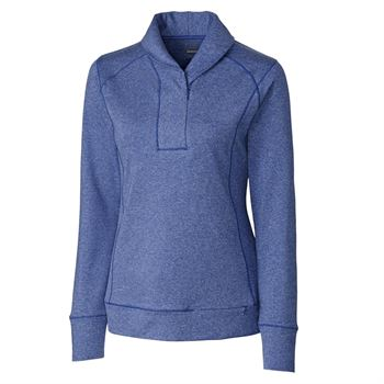 Cutter & Buck® Shoreline Women's Half-Zip - Personalization Available