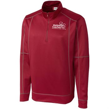Clique® Helsa Men's Half-Zip Jacket -Embroidery Personalization Available