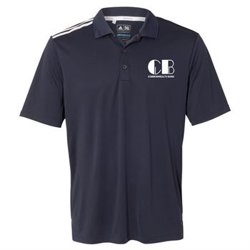 Adidas-Climacool 3-Stripes Shoulder Polo