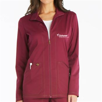 Dickies® Women's Two-Pocket Essence Warm-Up Jacket - Personalization Available
