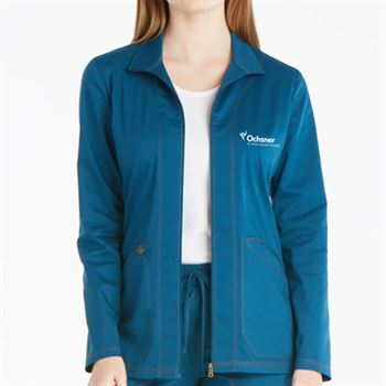 Dickies Women's 2-Pocket Essence Warm-Up Jacket - Personalization Available