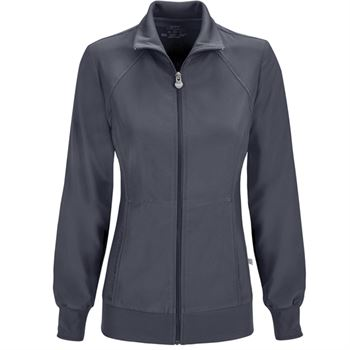 Cherokee Women's 2-Pocket Infinity Zip-Front Warm-Up Jacket
