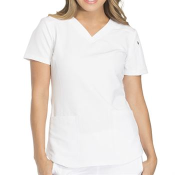 Dickies Women's 2-Pocket Dynamix V-Neck Scrubs Top - Personalization Available