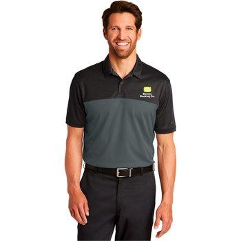 Nike® Golf Dri-FIT Colorblock Micro Pique Polo - Personalization Available