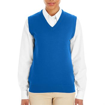 Harriton Ladies' Pilbloc™ V-Neck Sweater Vest